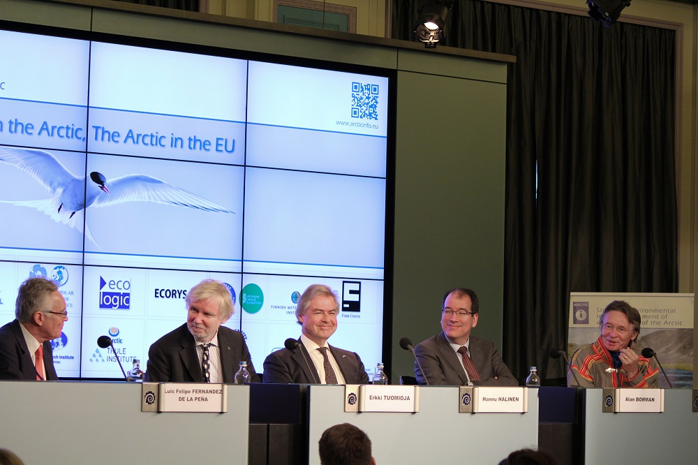 Today, Seminar in Brussels: the EU in the Arctic, the Arctic in the EU.