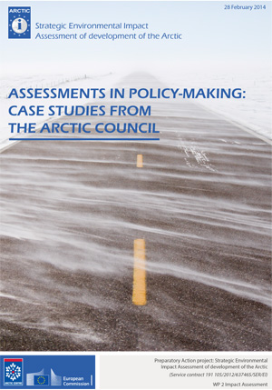 Assessments in Policy Making Case Studies from the Arctic Council
